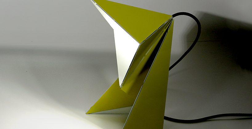 چراغ رومیزی اریگامی - کازیه