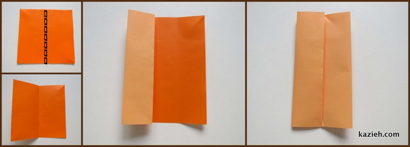 قاب عکس اوریگامی ساده