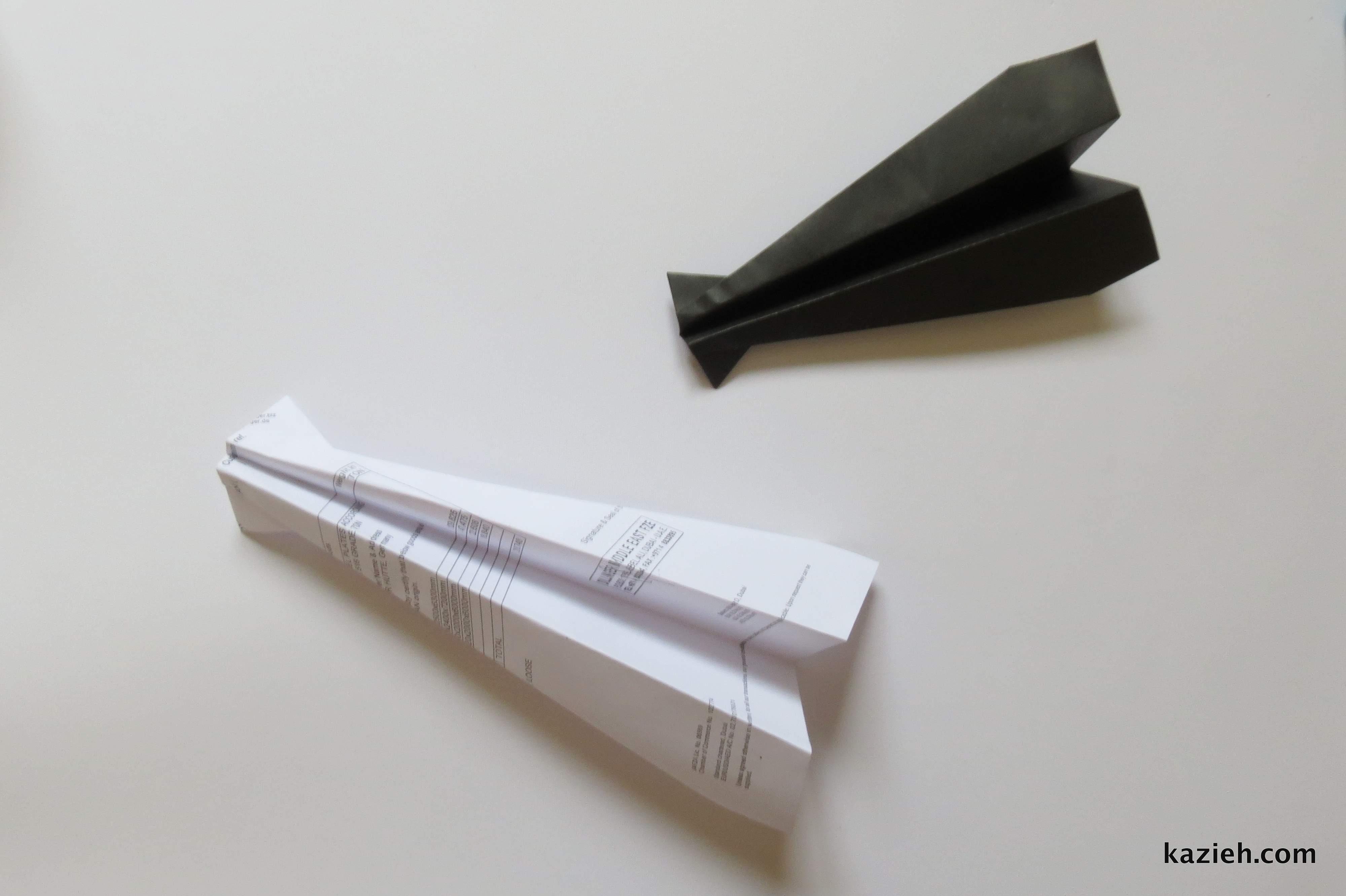آموزش موشک کاغذی - کازیه