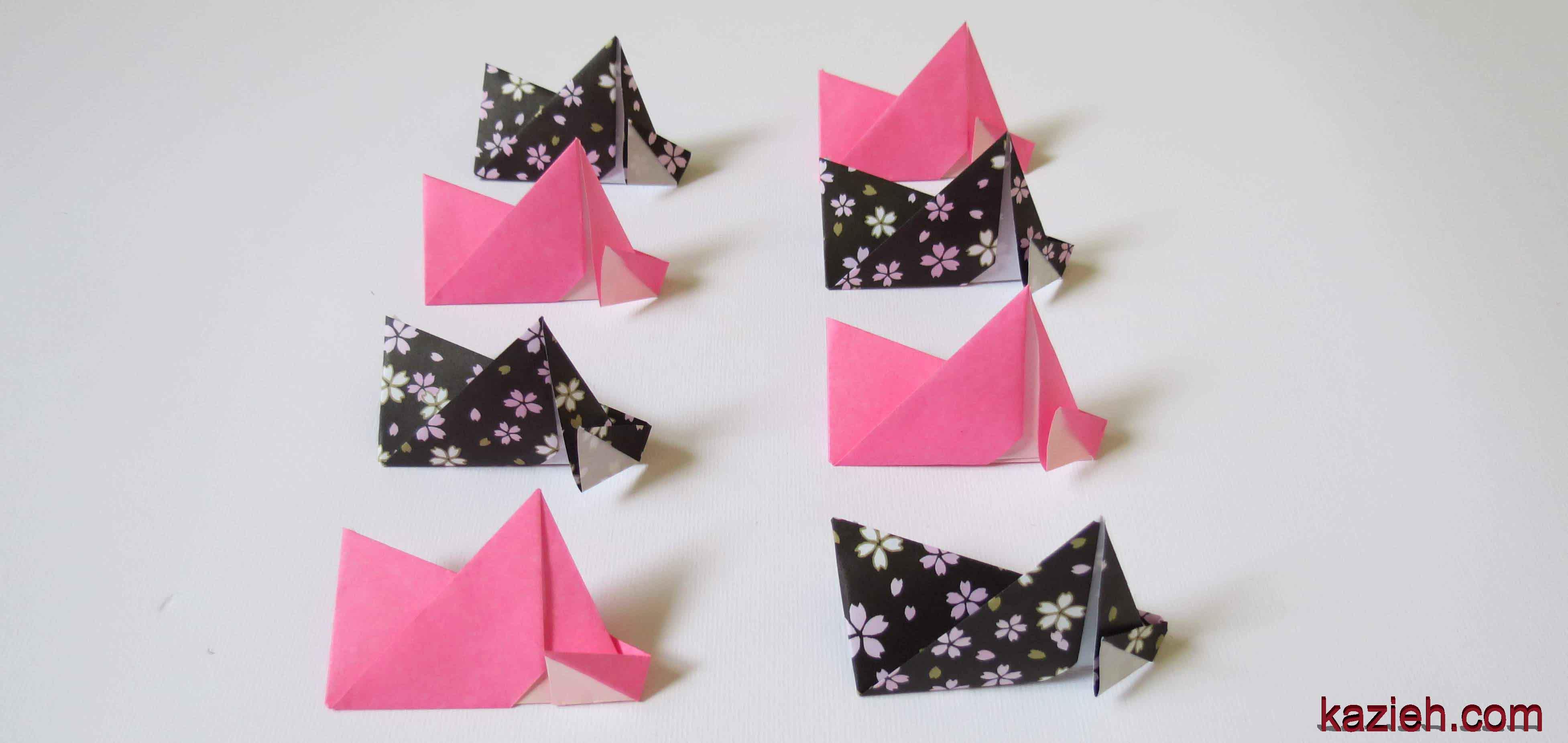 آموزش ستاره اوریگامی رابین- کازیه