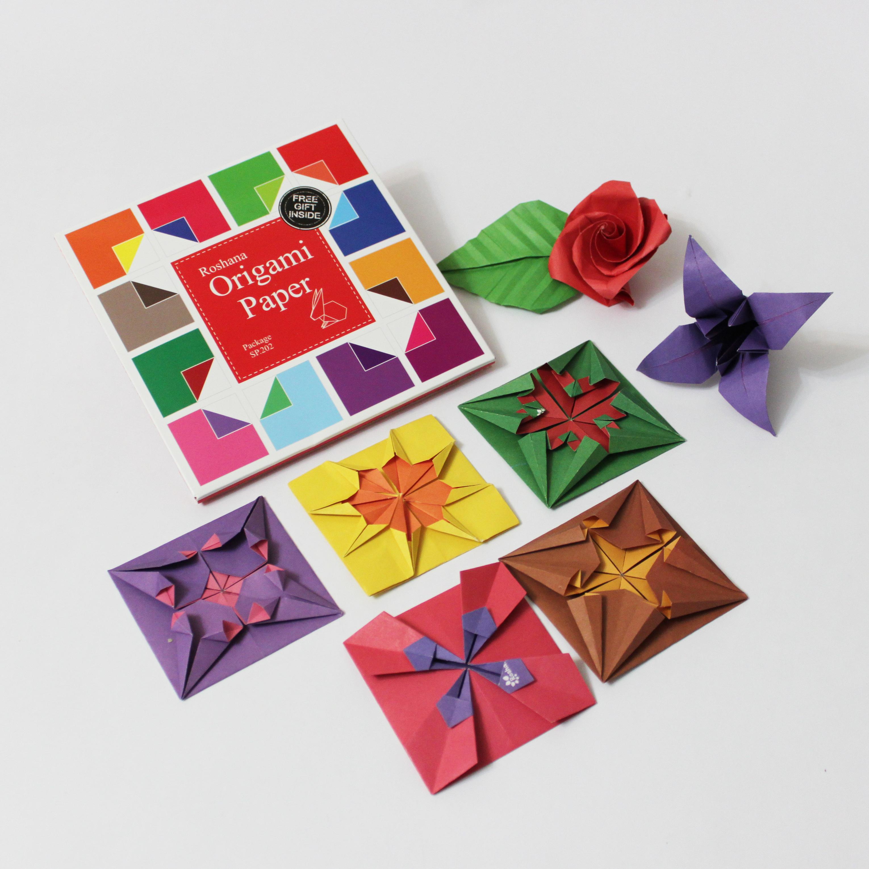 کاغذ اوریگامی دو رو - کازیه
