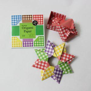 کاغذ اوریگامی چهار خونه