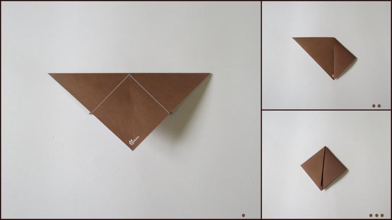 آموزش آدمک اوریگامی - مرحلهء دوم ساختن بدن