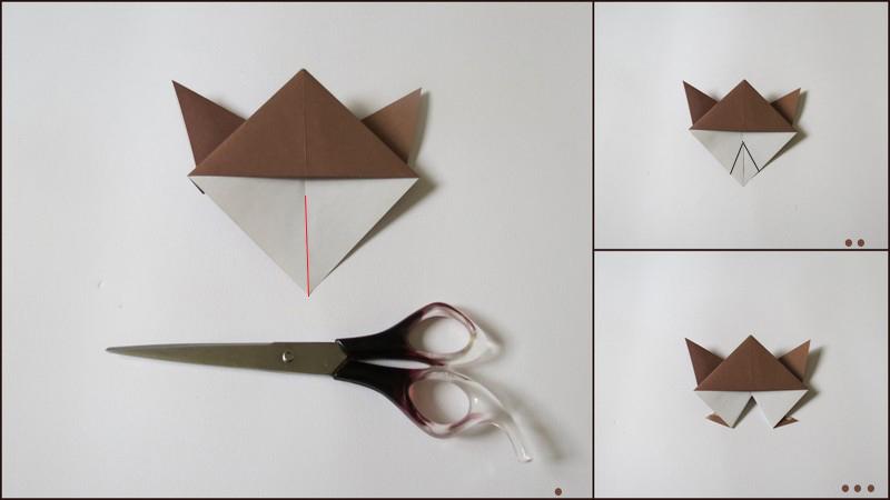 آموزش آدمک اوریگامی - مرحلهء چهارم ساختن بدن