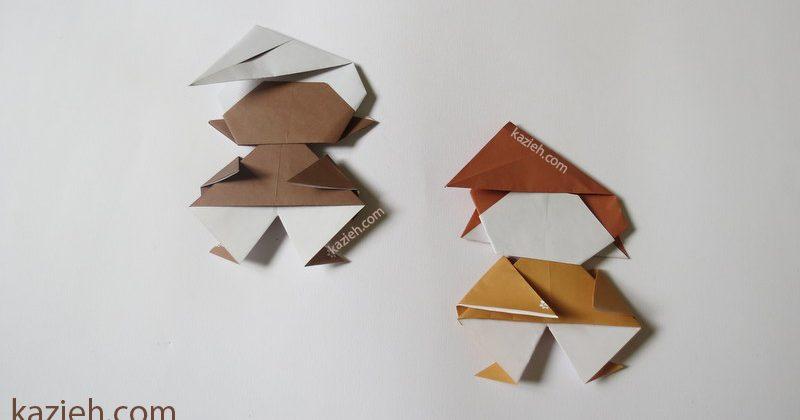 آدمک اوریگامی PITUFO - کازیه