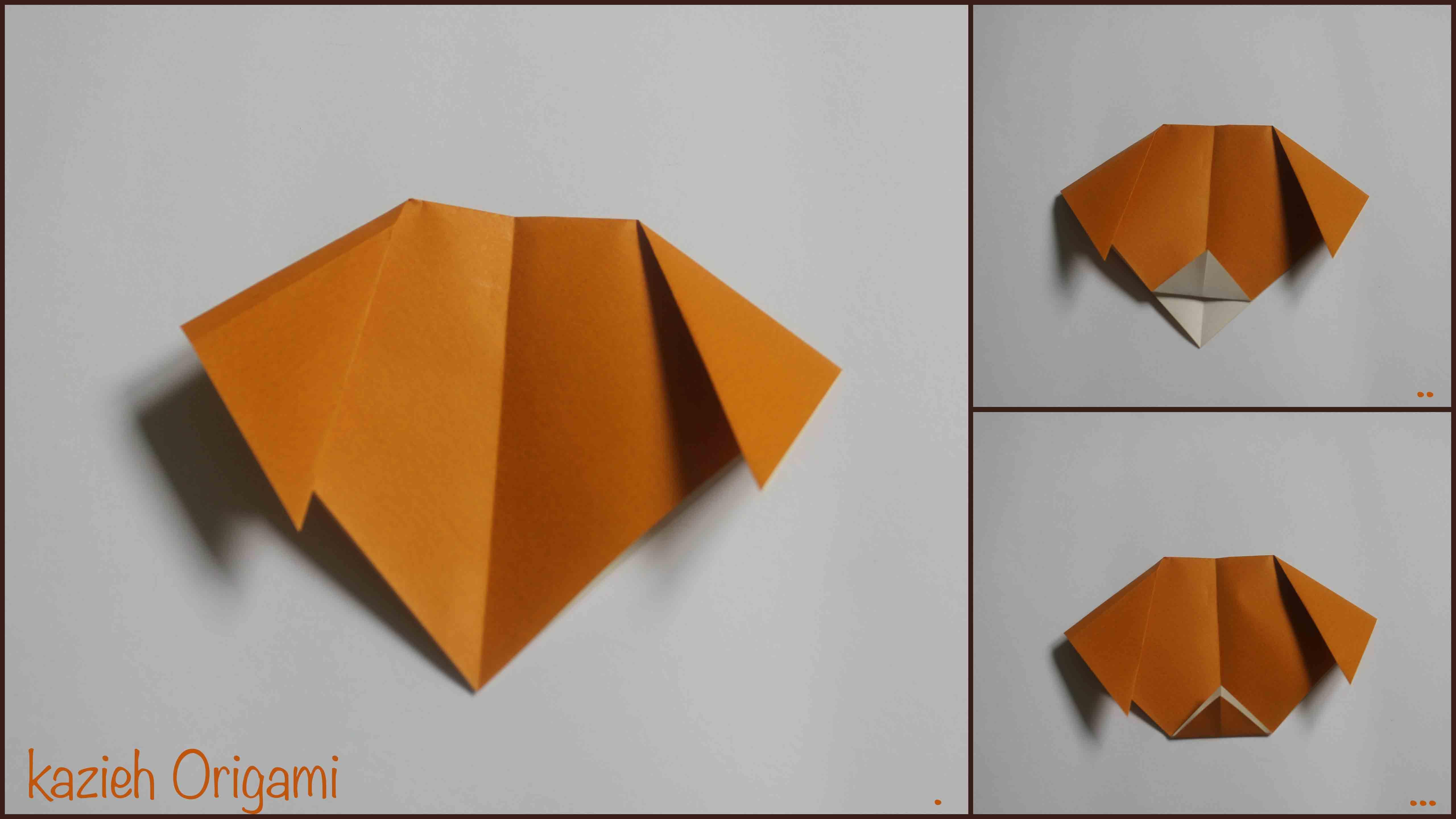 آموزش صورت سگ اوریگامی -مرحله چهارم- کازیه