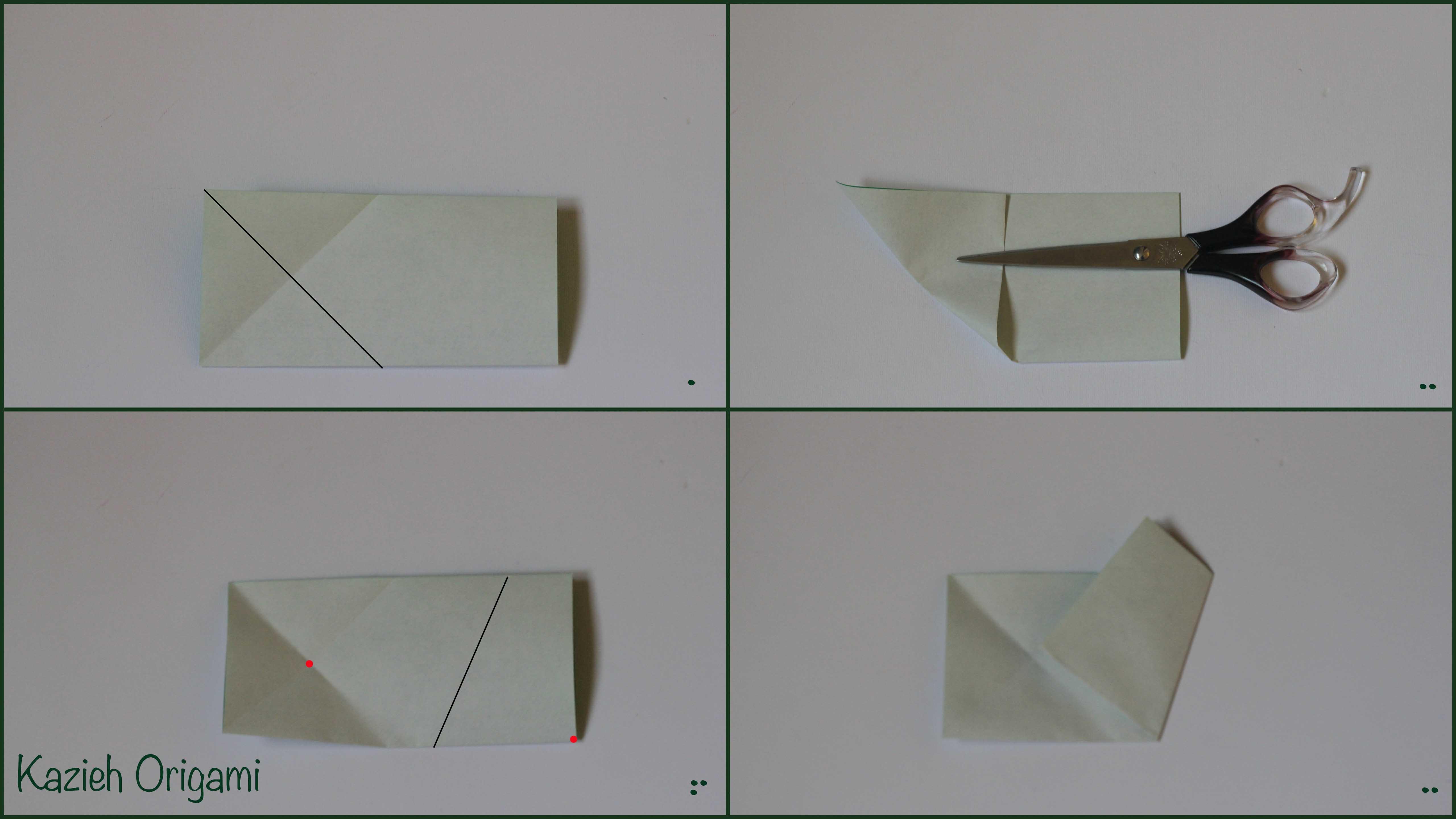 آموزش پنج ضلعی -مرحله دوم - کازیه