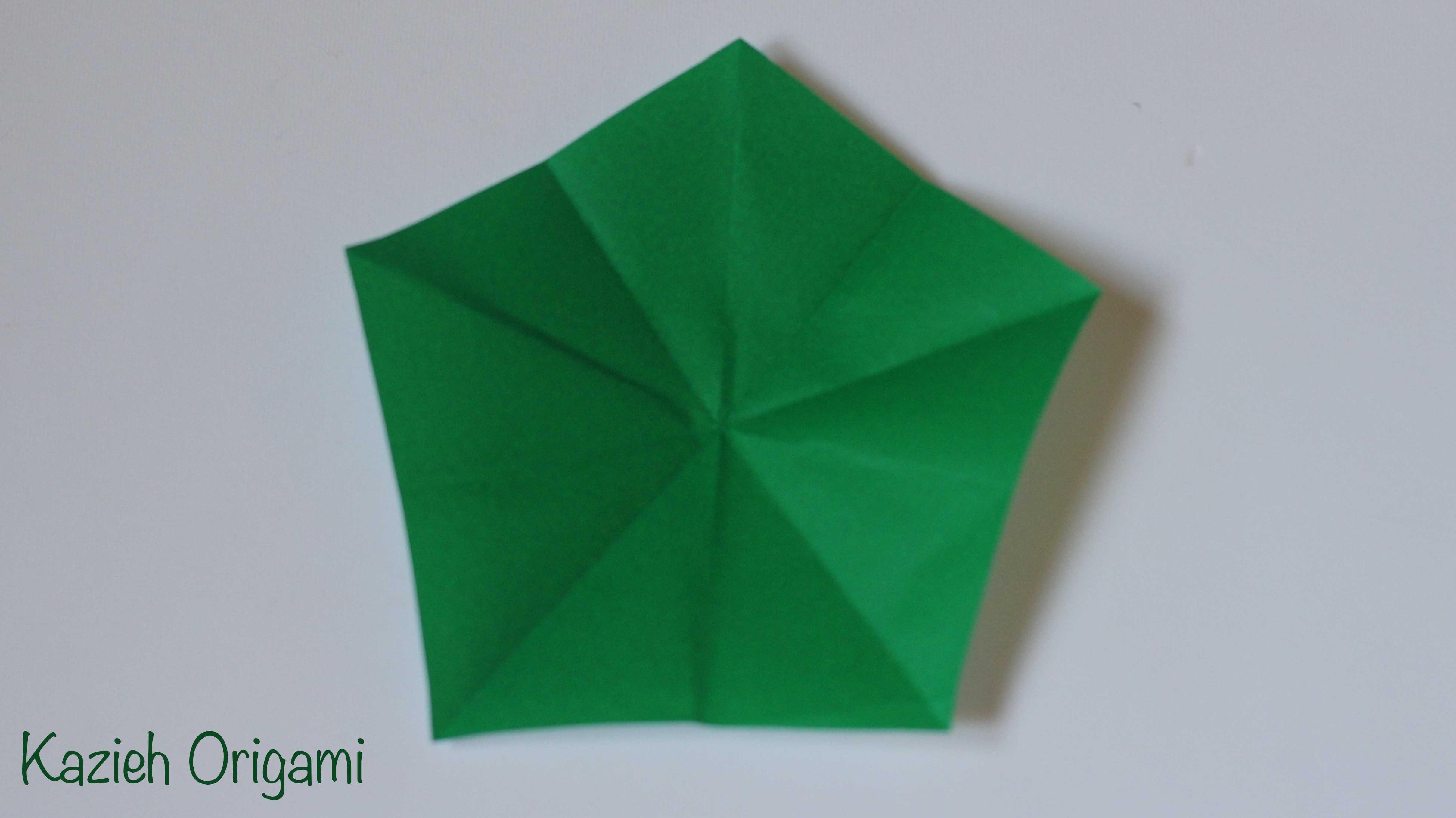 ساخت پنج ضلعی - کازیه