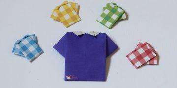 پیراهن مردانه اوریگامی - کازیه فروشگاه اینترنتی کاغذ اوریگامی ارسال به سراسر ایران